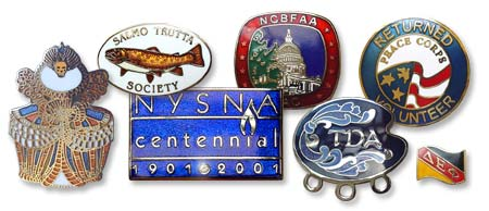 Traditional (Cloisonné) Hard Enamel Lapel Pins